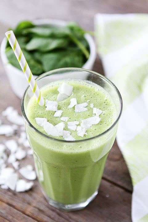 Healthy Green Smootie After IVF