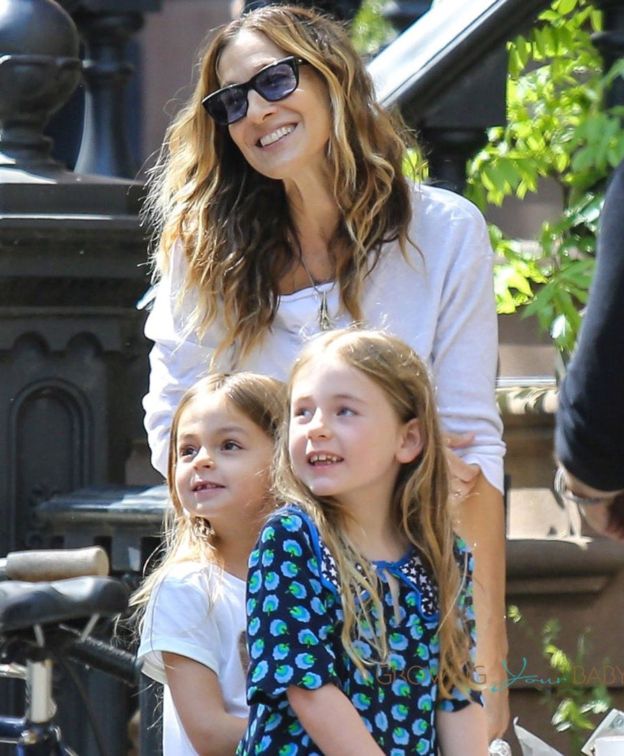 Sarah Jessica Parker With Twins