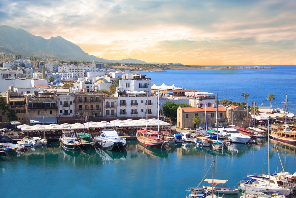 Cyprus Kyrenia Old Harbour For IVF Holiday