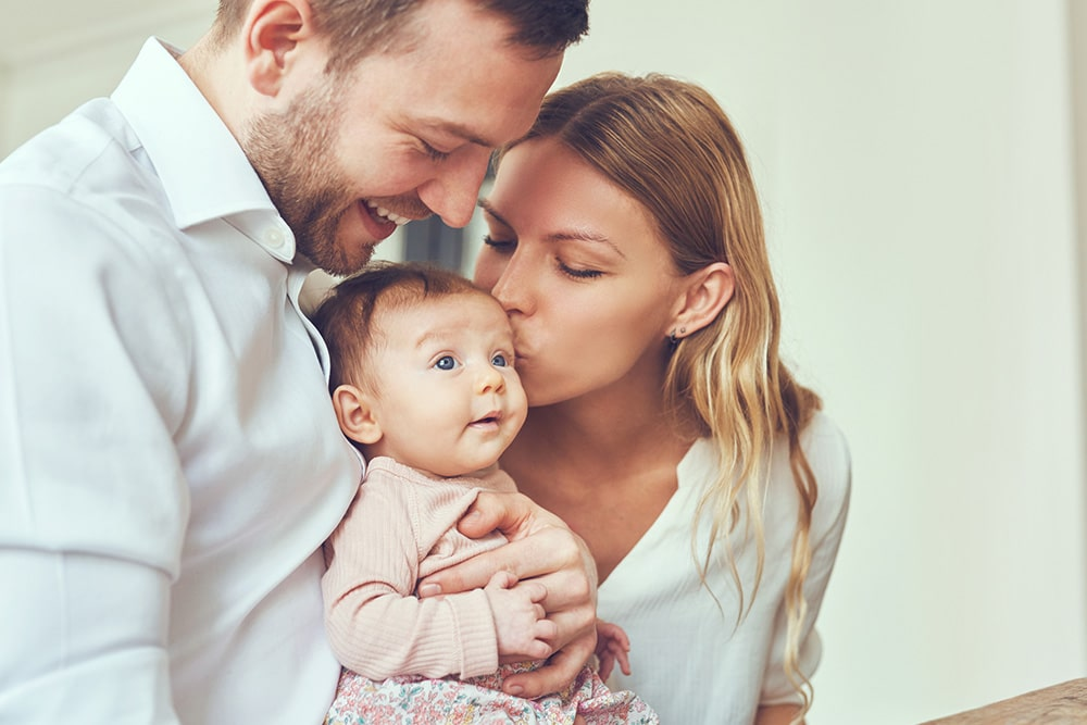 Happy Family After IVF Treatment In Cyprus IVF Centre