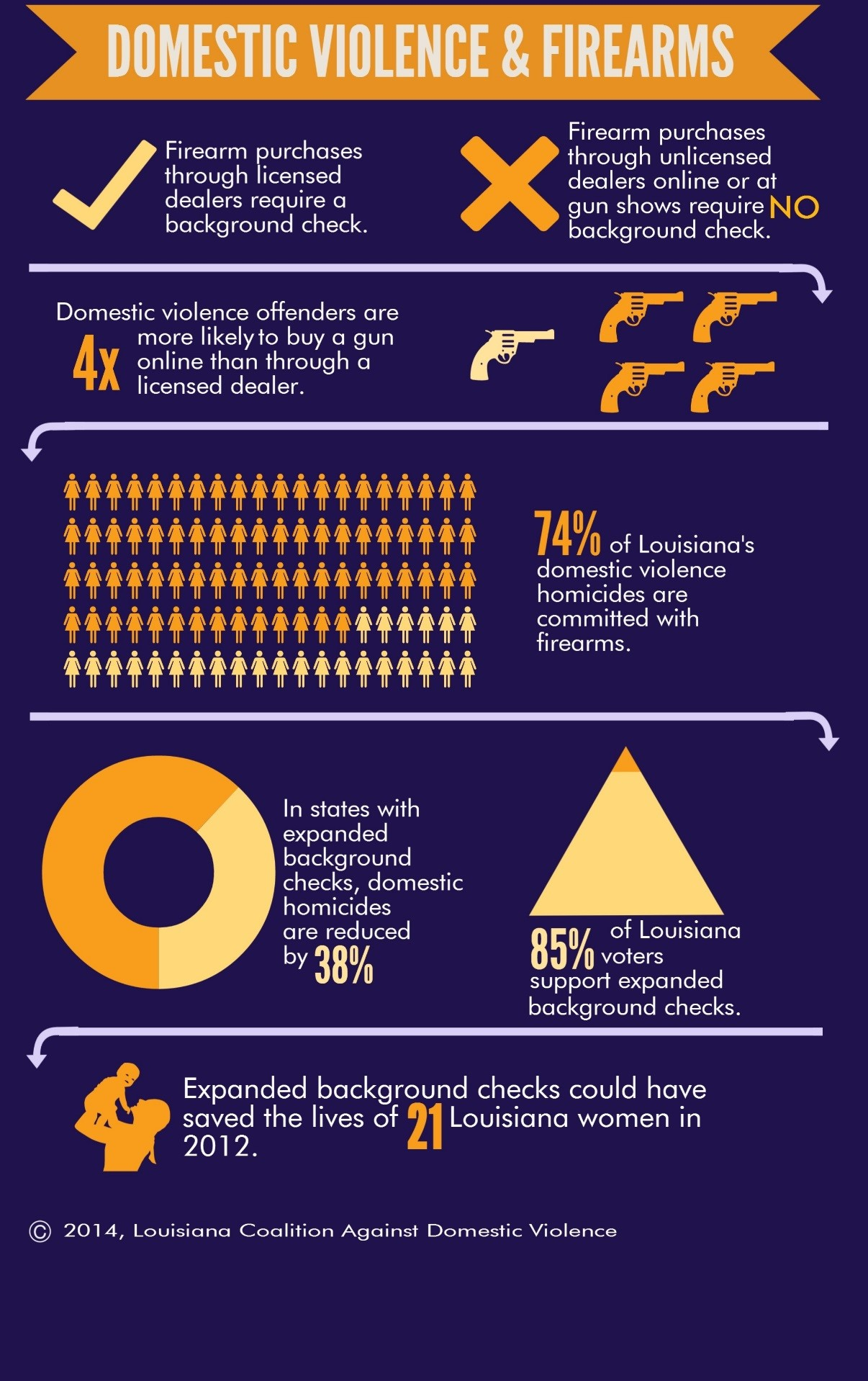 Infographic - Domestic Violence and Firearms