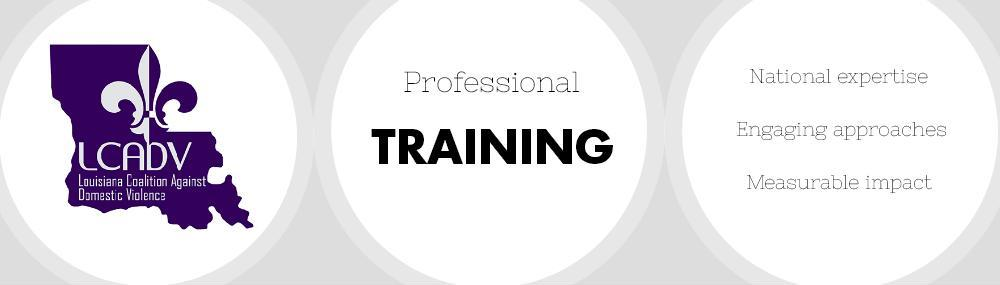 LCADV Learn more about our training programs