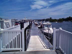 Long Bay Pointe fuel dock