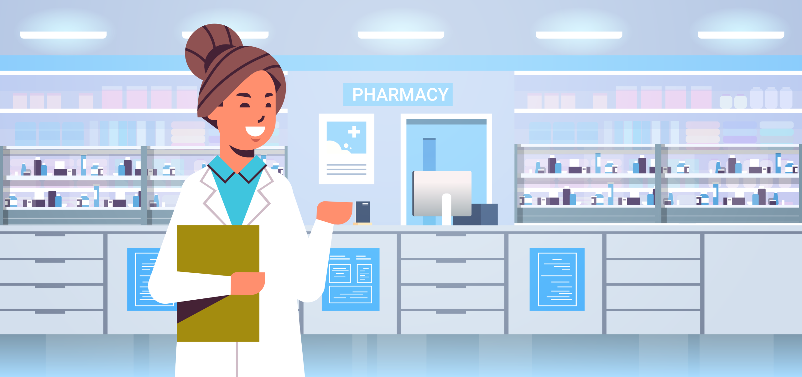 woman_pharmacist_illustration