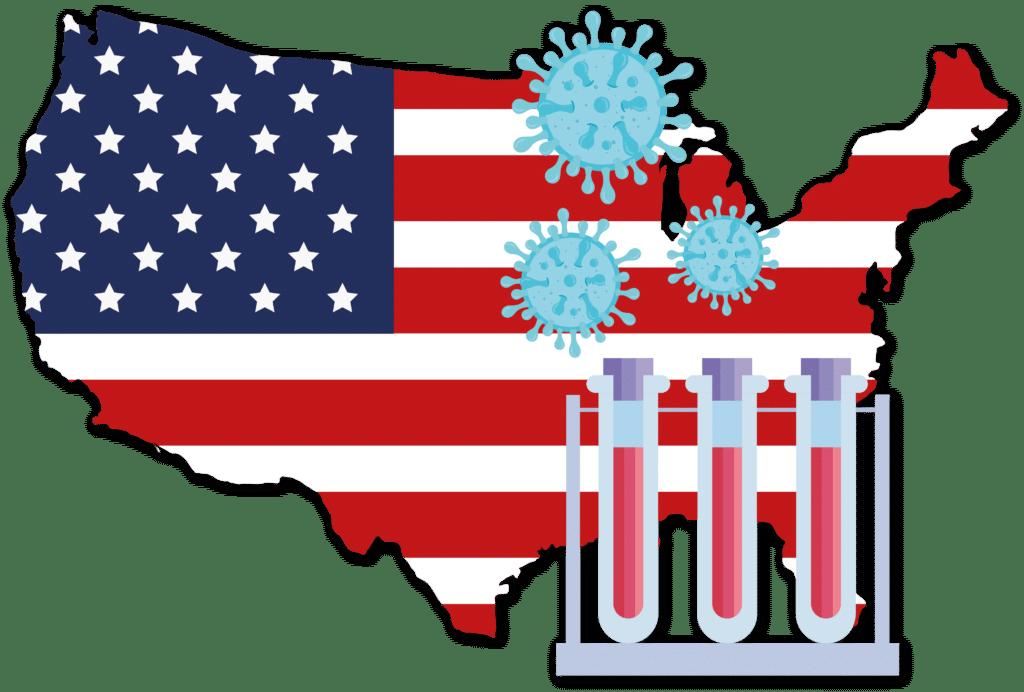 US Map Covid Testing