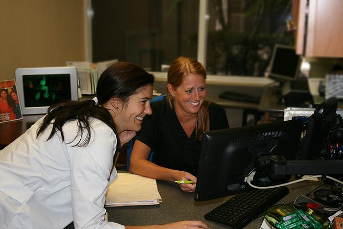 Melanie and Dr. Scheinfeld