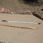The broken paint pole vs the redneck one