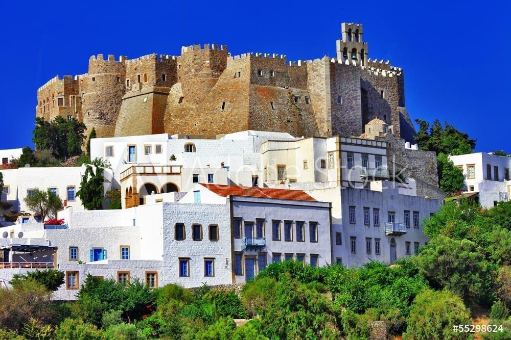 Unesco heritage site - Patmos island, Greece