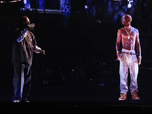 Tupac Hologram at Coachella