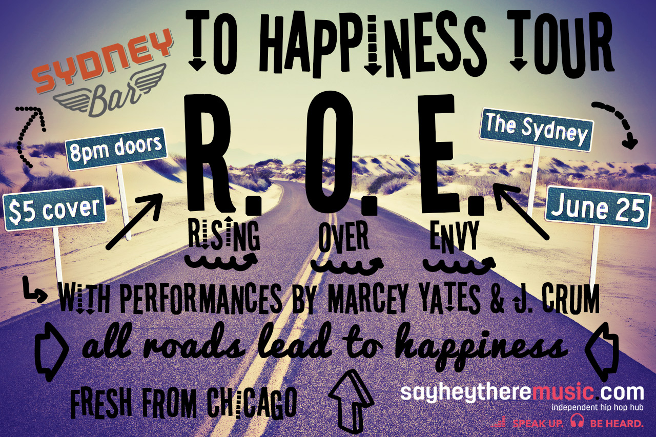 Show Alert: ROE and the Soulvillians to Play The Sydney June 25