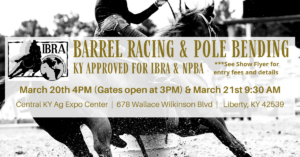 Barrel Racing & Pole Bending