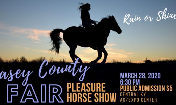 Casey County Fair Pleasure Horse Show