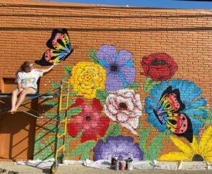 Liberty Flower Mural