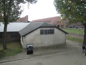 Auschwitz orchestra played outside this kitchen