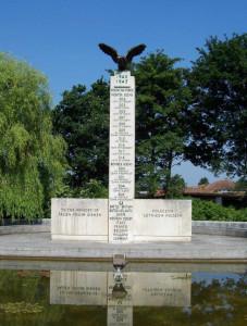 Polish war memorial britain