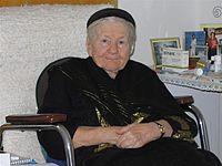 Photo of Irena Sendler age 98
