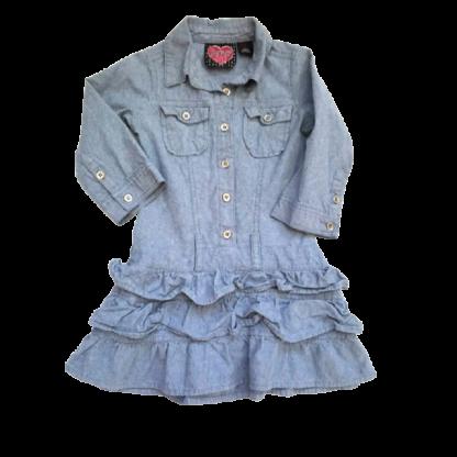 Forever Me Denim Dress (Size 5)