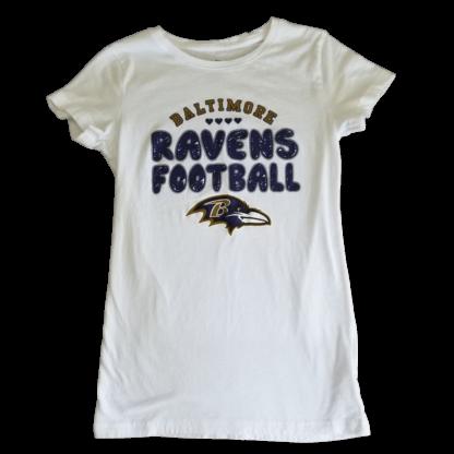NFL Team Apparel Baltimore Ravens T-Shirt (Size XL - 14/16)