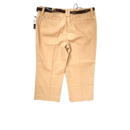 Larry Levine Belted Pants (Size 8)