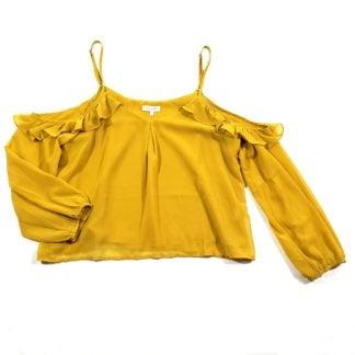 honey belle cold shoulder top