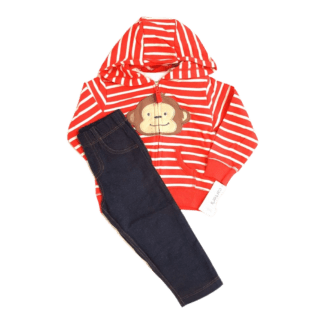 Carter's 3-PC Monkey Outfit (Size 18M)
