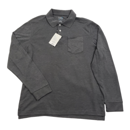 Croft & Barrow Long Sleeve Polo Shirt