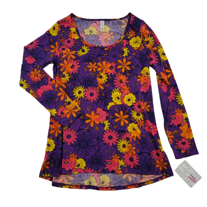 LulaRoe Lynnae Floral Top