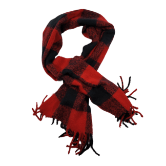 American Eagle Plaid Scarf (One Size)