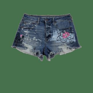 American Eagle Vintage Hi-Rise Festival Shorts (Size 8)