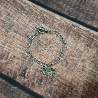 Four-Leaf Clover Bracelet