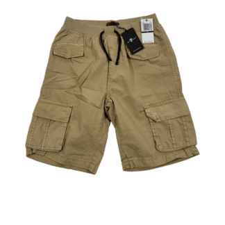 7 For All Mankind Khaki Cargo Shorts (Size XL)