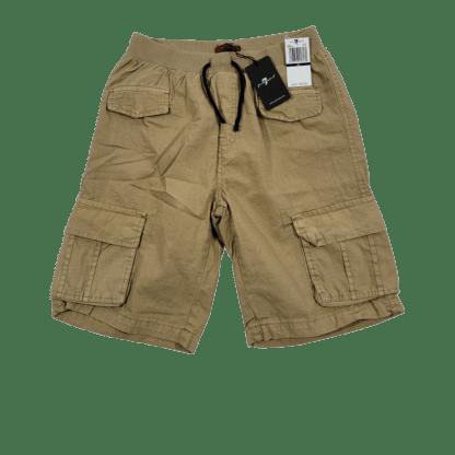 7 For All Mankind Khaki Cargo Shorts (Size XL)