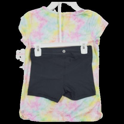 90 Degree By Reflex Girls Shorts Set (Size 10)