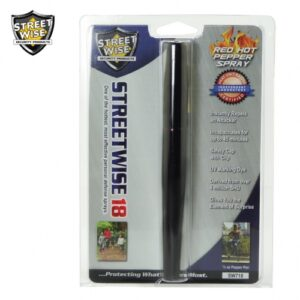Streetwise 18 Pepper Spray 1/2 oz BLACK PEN