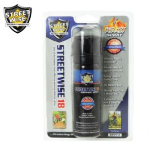 Streetwise18 Pepper Spray 3 oz FLIP TOP