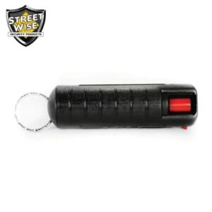 Lab Certified Streetwise 18 Pepper Spray, 1/2 oz. Hard Case BLACK
