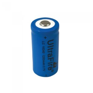 16340 CR123A Rechargeable Battery for PFCL2F55