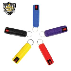 Lab Certified Streetwise 18 Pepper Spray 1/2 oz HARDCASE CASE of 125