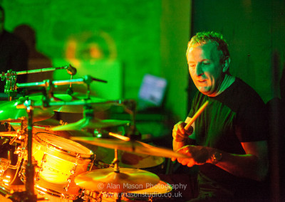 Geoff on the Drums