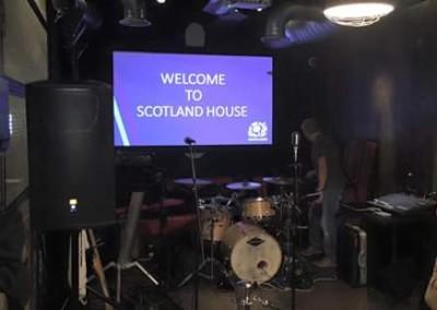 Gotcha! at Scotland House