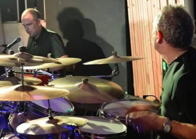 Geoff and John