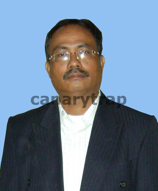 Picture of ULFA Chairman Arvinda Rajkhowa at the time of entering India from Bangladesh at Dawki check post in Meghalaya on India-Bangladesh border on Friday 4th December 2009. PHOTO: EASTERN PROJECTIONS