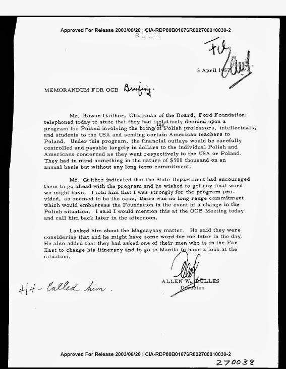 Link-5 : Ford Foundation and Kejriwal
