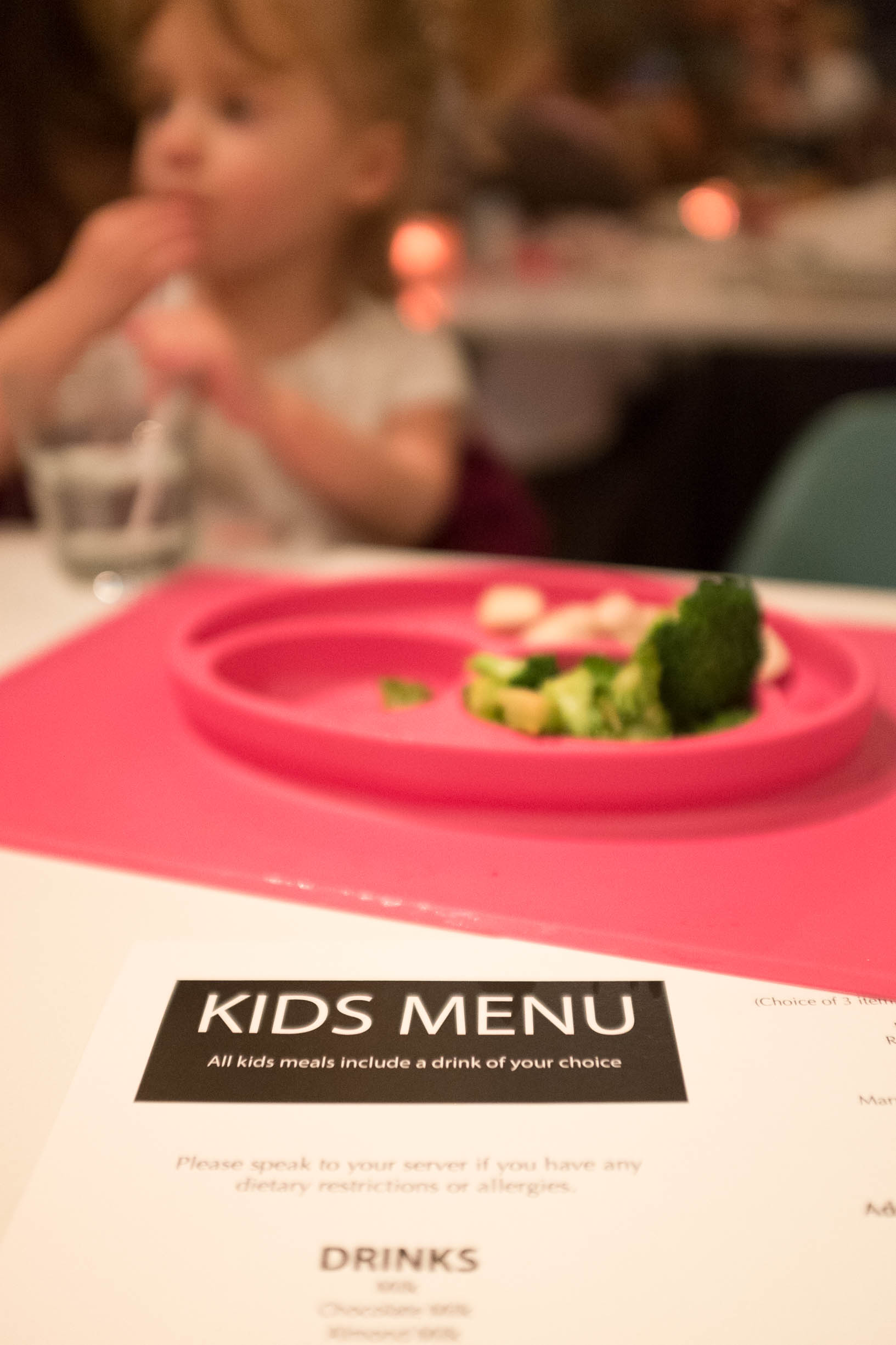 Piano Piano Restaurant Kid's menu