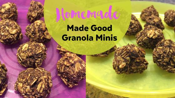Made Good Granola Minis Recipe
