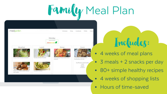 4-week Family Meal Plan
