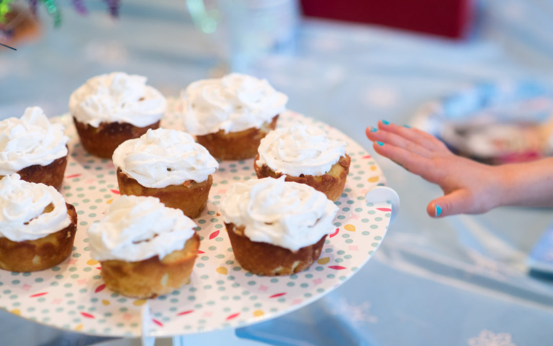 The Better Birthday Cupcake (gluten-free, dairy-free, low-sugar)