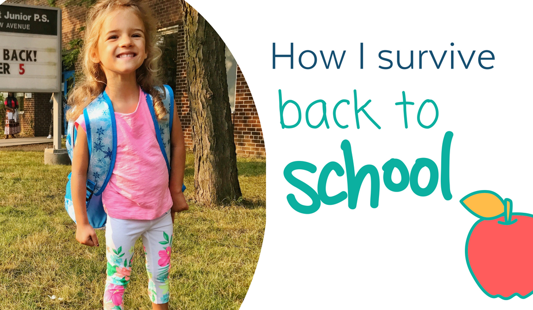 How I survive back-to-school (8 things you must do!)