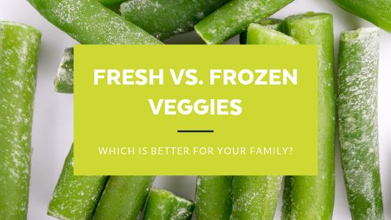 Frozen vs. Fresh Veggies: Which is better?