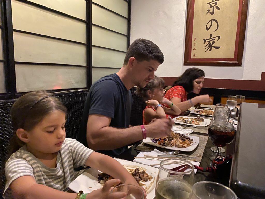 Family friendly restaurant
